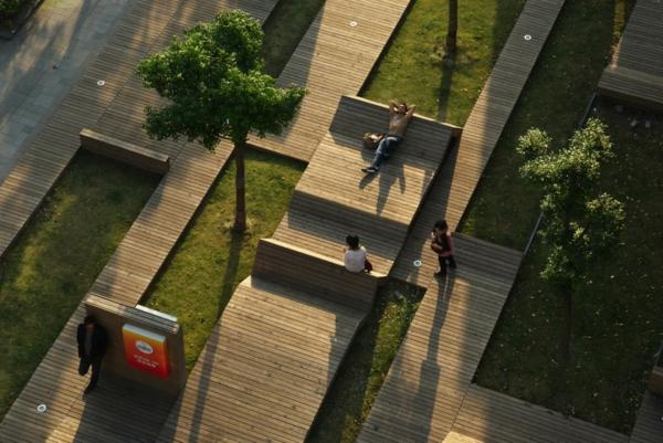 Mobilier exterieur bois design - Mobilier bois design ...