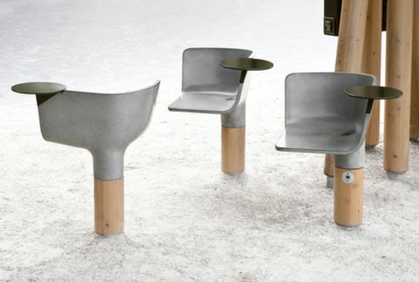 mobilier-urbain-une-chaise-et-une-table