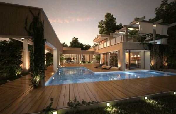 piscine-en-bois-rectangulaire-parquet-stratifié-extérieur-superbe