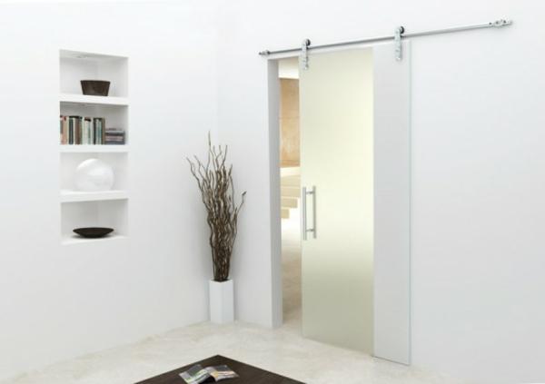La porte coulissante pour la salle de bain - Porte coulissante interieur pour salle de bain ...
