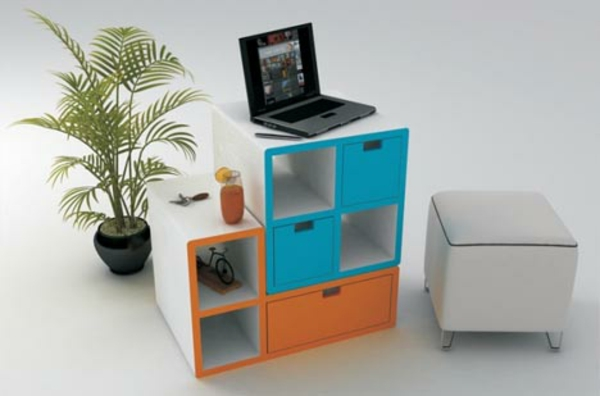 rangement-modulable-casiers-colorés