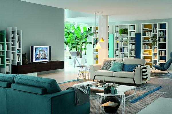 rangement-modulable-salle-de-séjour-unique-caissons-de-rangement-moderne