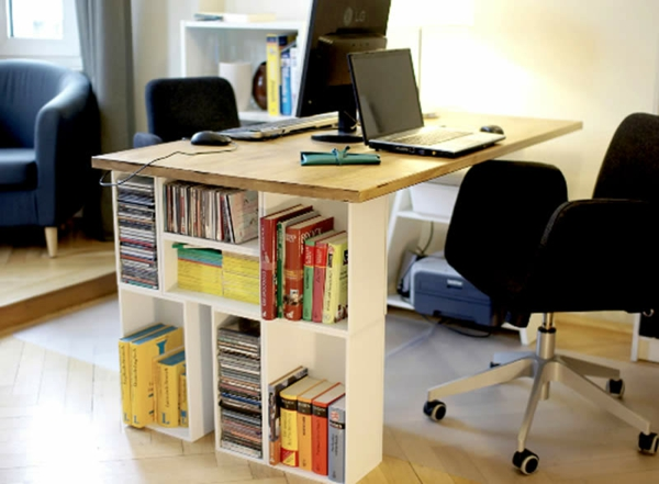 rangement-modulable-un-bureau-avec-espace-de-rangement