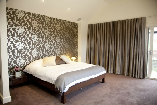 Design avec rideaux du luxe for Rideau chambre a coucher adulte