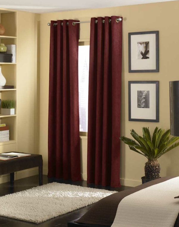 rideaux-cool-idée-pour-votre-design-avec-des-décorationèet-cadre-en-plastique