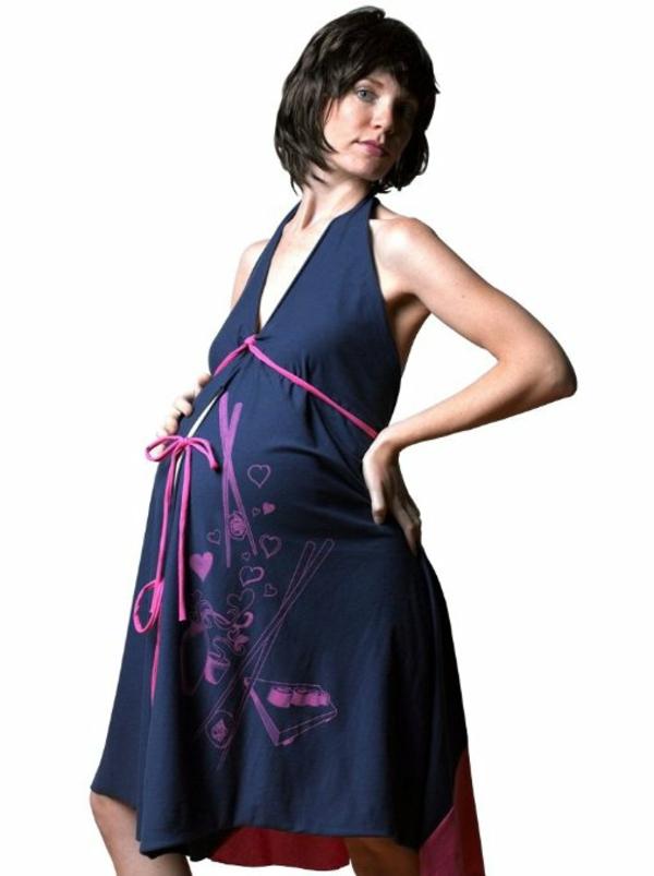 robe-mignon-pour-femme-ensainte-bleu