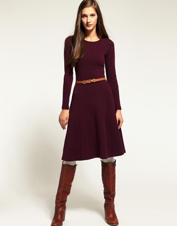 robe-pull-longue-couleur-bordeau