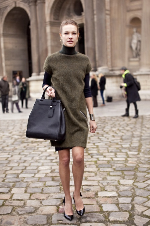 robe-pull-manches-courtes
