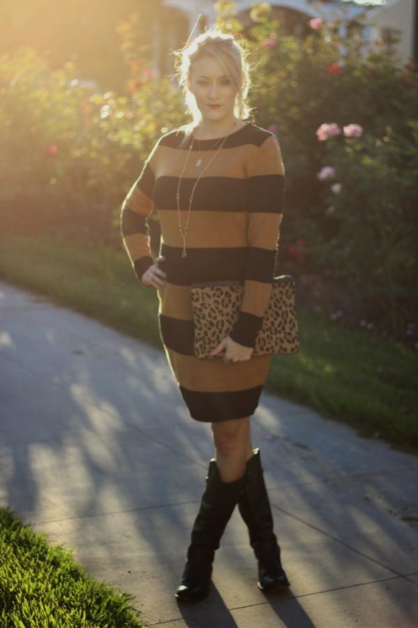 robe-pull-rayée