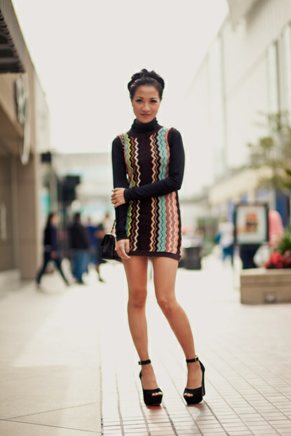 robe-pull-torsades-colorés