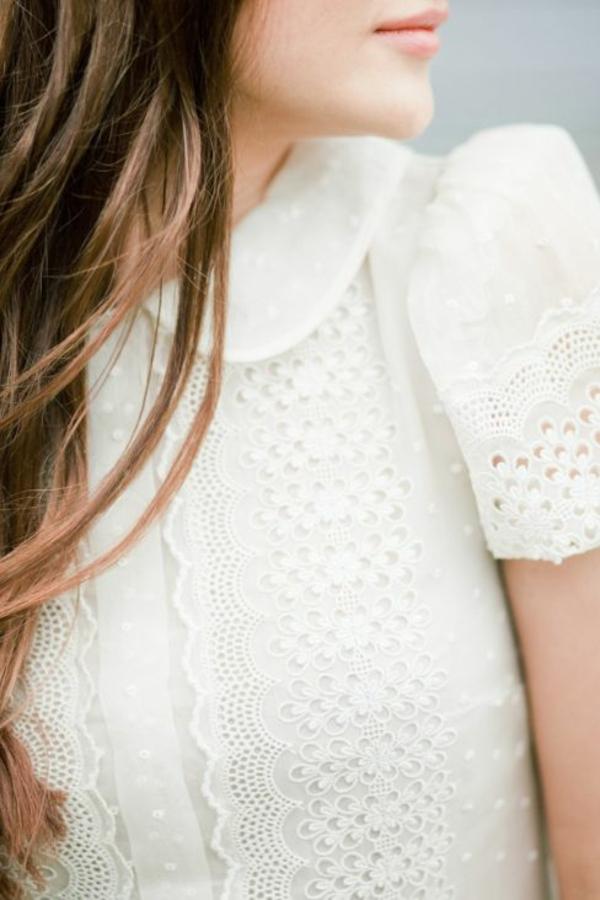 romantique-design-de-chemise-blanche