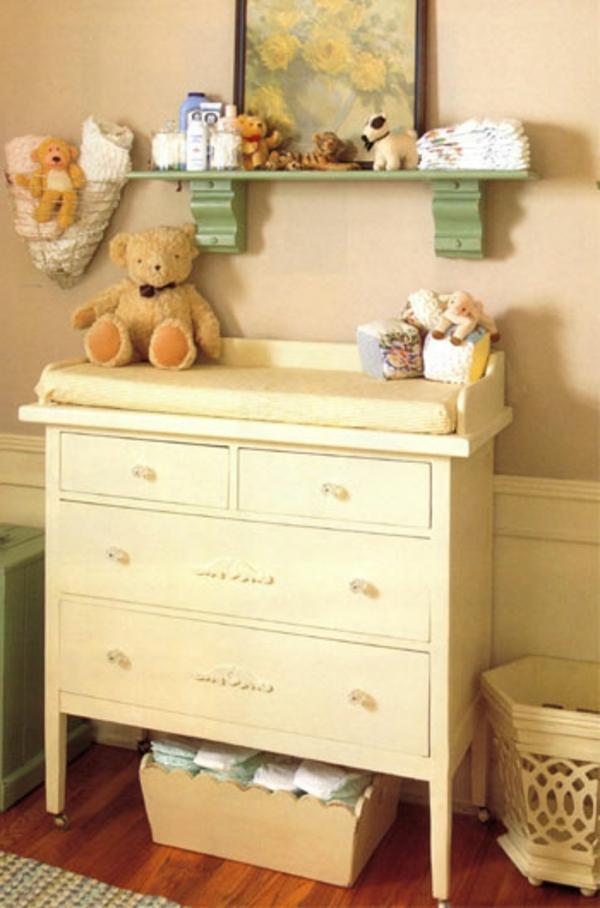 simple-et-neutre-couleur-de-la-table-pour-une-élégante-chambre-d'enfant