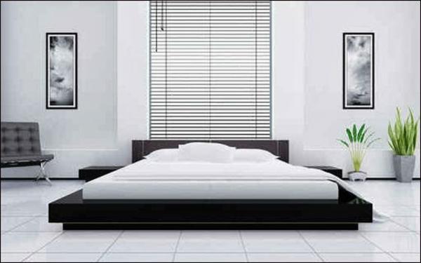 sommelier-du-lit-pour-chambre-a-coucher -minimaliste