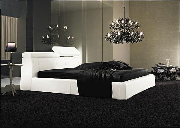 sommelier-du-lit-pour-chambre-a-coucher-noir