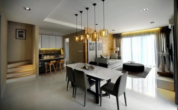 suspension-de-salle-à-manger-salle-de-déjeuner-moderne