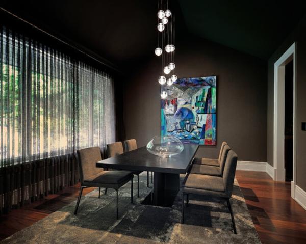 suspension-de-salle-à-manger-un-intérieur-remarquable