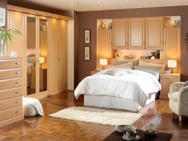 La tête de lit avec rangement - un gain d\'espace déco - Archzine.fr