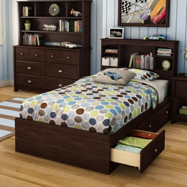 tête-de-lit-avec-rangement-chambre-d'ado