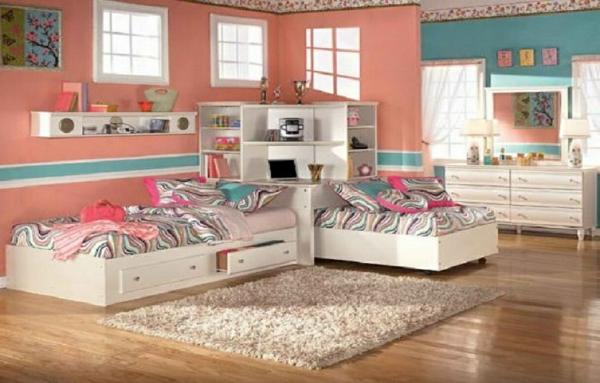 tête-de-lit-avec-rangement-chambre-d'enfants-originales
