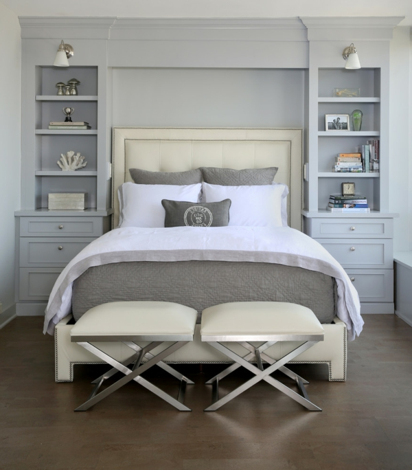 meuble tete de lit avec rangement maison design. Black Bedroom Furniture Sets. Home Design Ideas