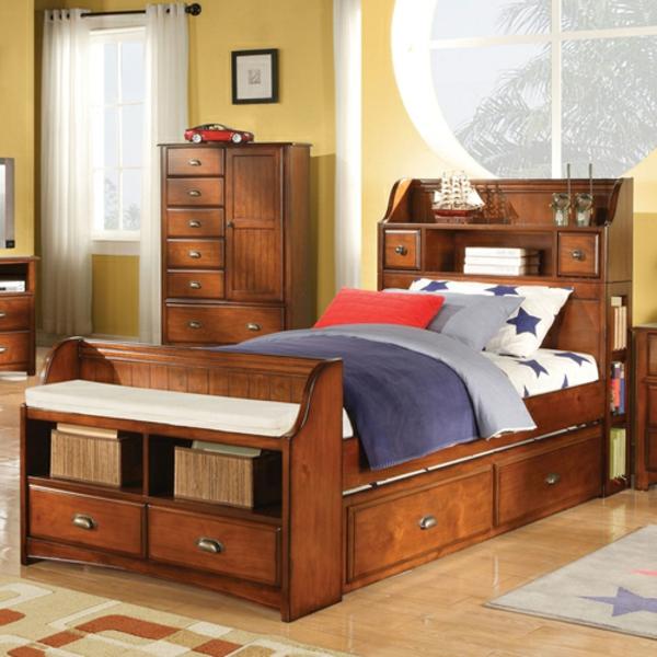 tête-de-lit-avec-rangement-design-joli-en-bois