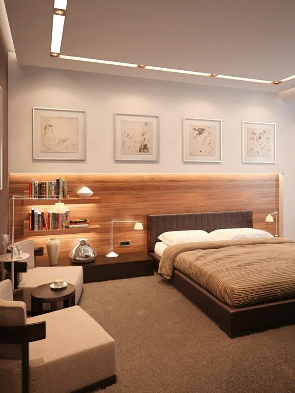 tête-de-lit-avec-rangement-deux-étagères-flottantes