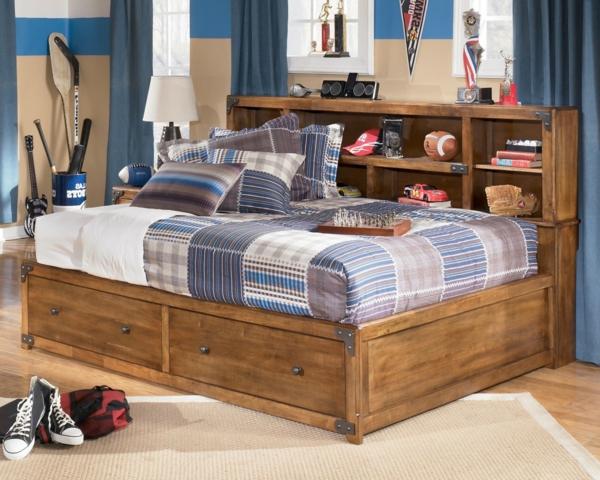 tête-de-lit-avec-rangement-pour-une-chambre-de-garçon