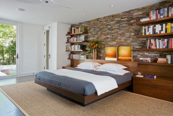 tête-de-lit-avec-rangement-rangement-avec-étagères-flottantes