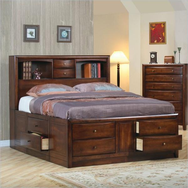 tête-de-lit-avec-rangement-tiroirs-et-étagères