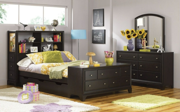 meuble avec lit integre conceptions de maison. Black Bedroom Furniture Sets. Home Design Ideas