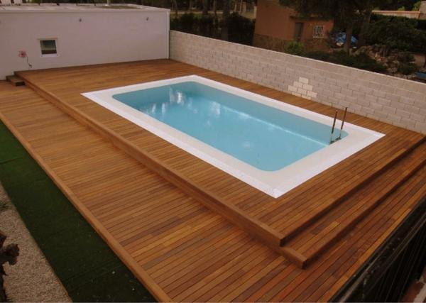 faire une terrasse en bois composite. Black Bedroom Furniture Sets. Home Design Ideas