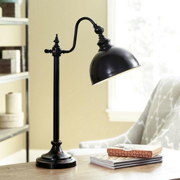traditionel-lampe-noir-classique-et-rétro