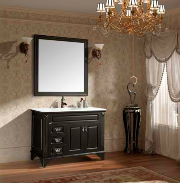 meuble salle de bain vintage interesting ensemble with. Black Bedroom Furniture Sets. Home Design Ideas