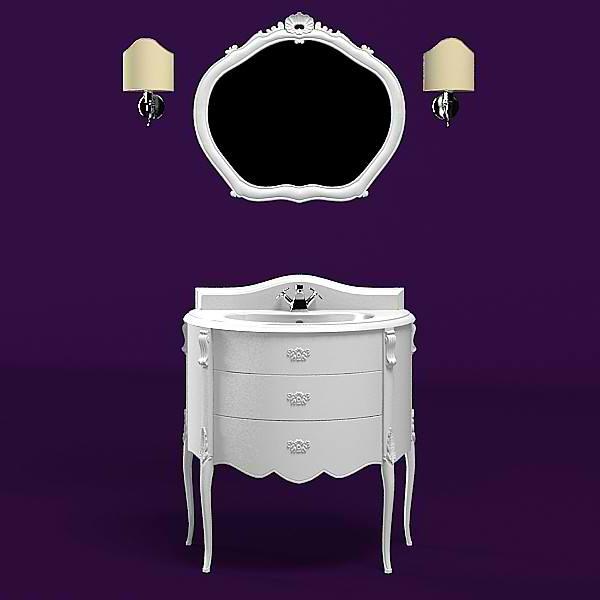 un-kit-pour-la-salle-de-bain-en-style-baroque-en-couleur-blanc-avec-un-armoir-et-miroir-et-deux-lamps
