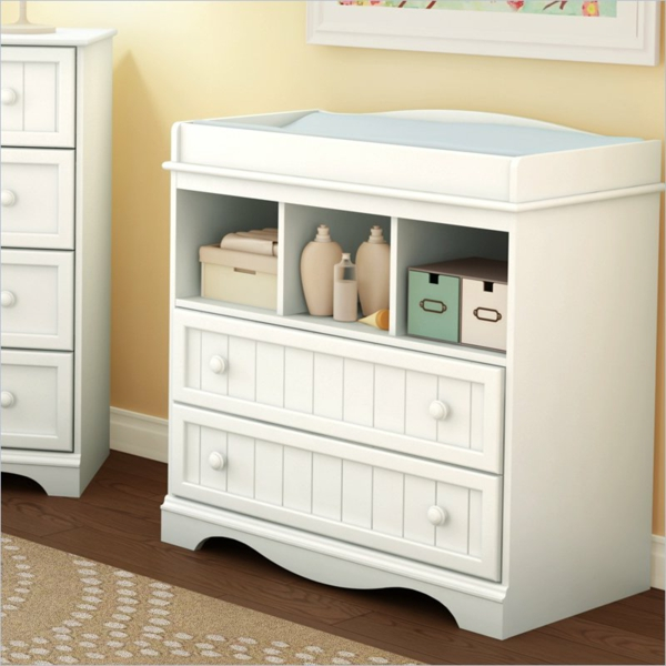 unique-armoire-blanc-pour-changer-l'enfant