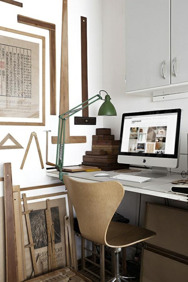 La chaise du bureau en bois r tro moderne - La maison de la chaise ...