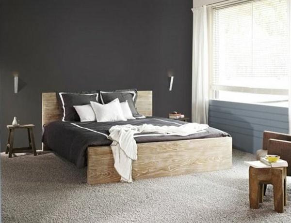 unique-design-our-votre-chambre-à-coucher-que-vous-allez-bien-aimer-avec-un-mur-en-gris