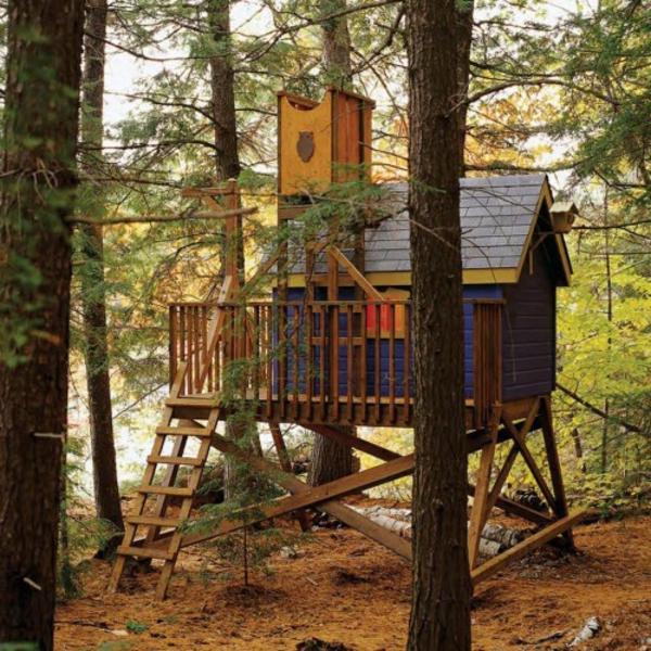 une cabane dans les arbres pour votre enfant. Black Bedroom Furniture Sets. Home Design Ideas