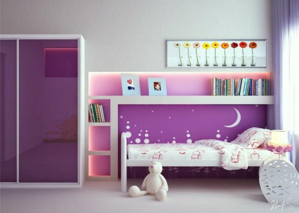 unique-design-pour-la-chambre-design-d'enfant-minimaliste-avec-ameublement-simple-et-violet