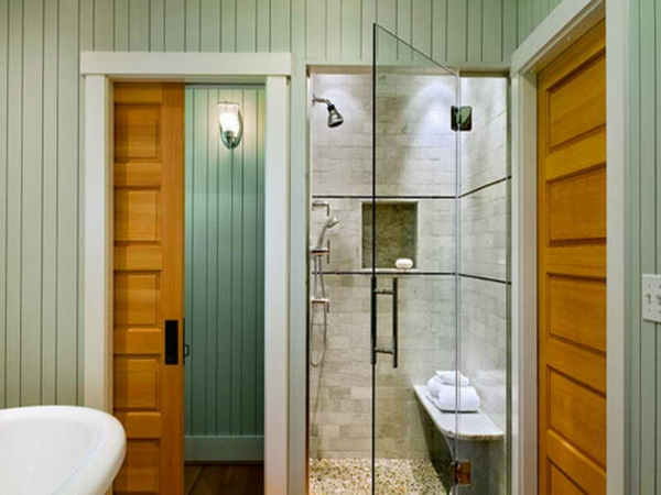 Porte coulissante salle de bain - Porte coulissante salle de bain lapeyre ...