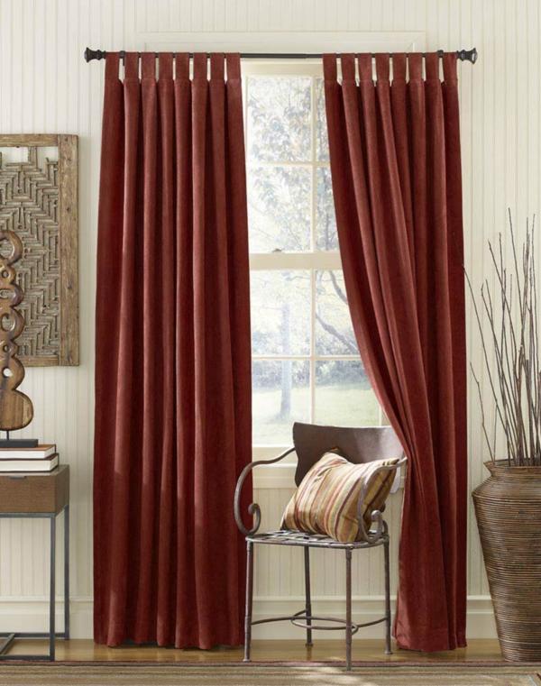 unique-rideaux-rouge-pour-votre-salon-et-un-design-élégant-pour-votre-confort-en-plus-vous-avez-jolie-décoration