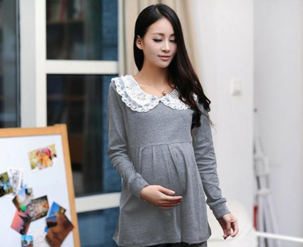 vêtement-grossesse-en-gris-vintage