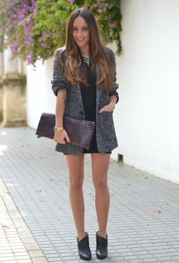 veste-en-tweed-et-une-robe-courte