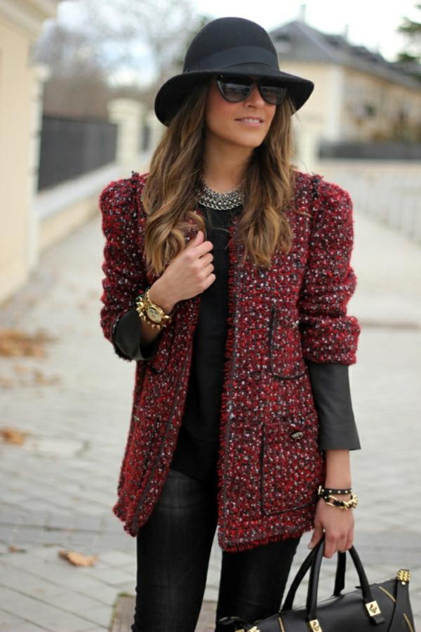 veste-en-tweed-rouge