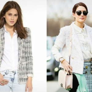 La veste en tweed - vintage et moderne!