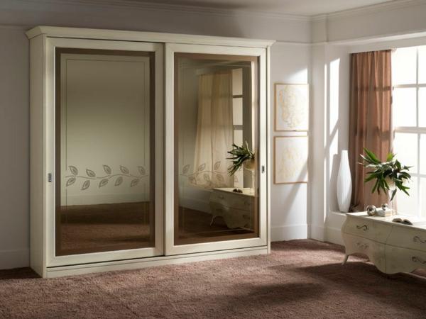 L 39 armoire avec porte coulissante pour la chambre a for Chambre a coucher avec armoire