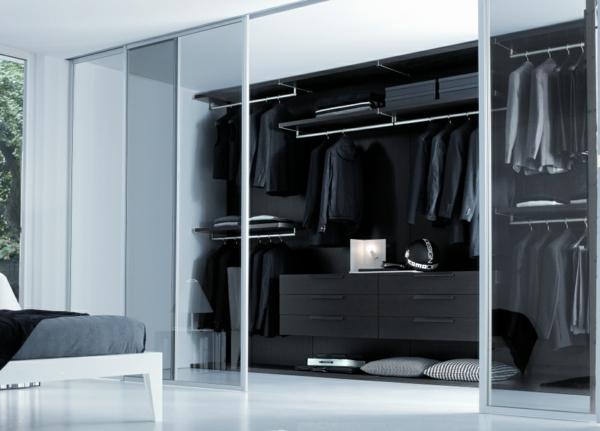 la porte coulissante de dressing. Black Bedroom Furniture Sets. Home Design Ideas
