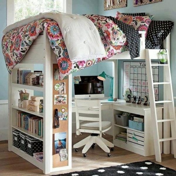 lit-surélevé-dsigns-jolis-et-créatifs-de-lits-loft