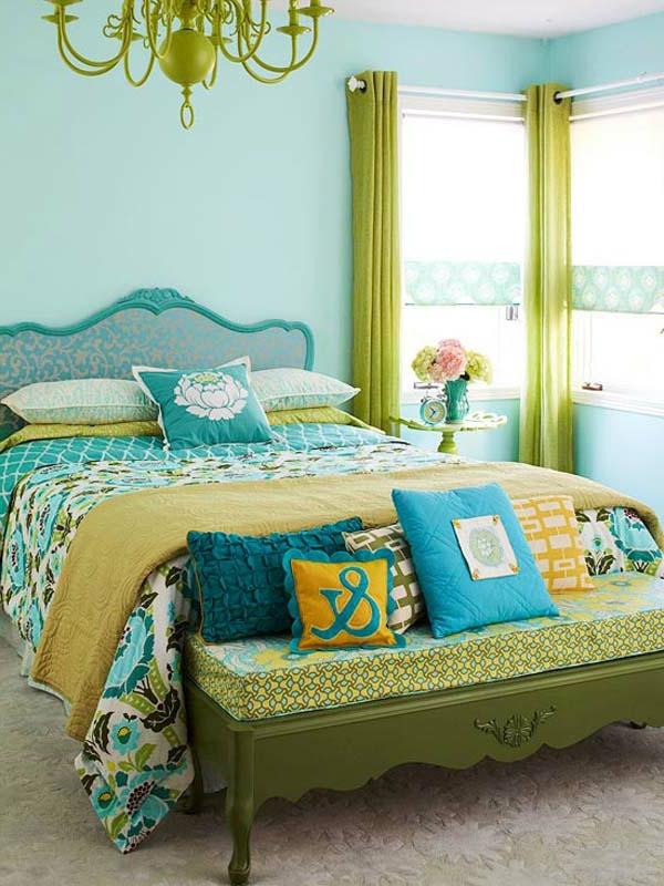 DIY-rideaux-couleurs-frais-bleu-jaune