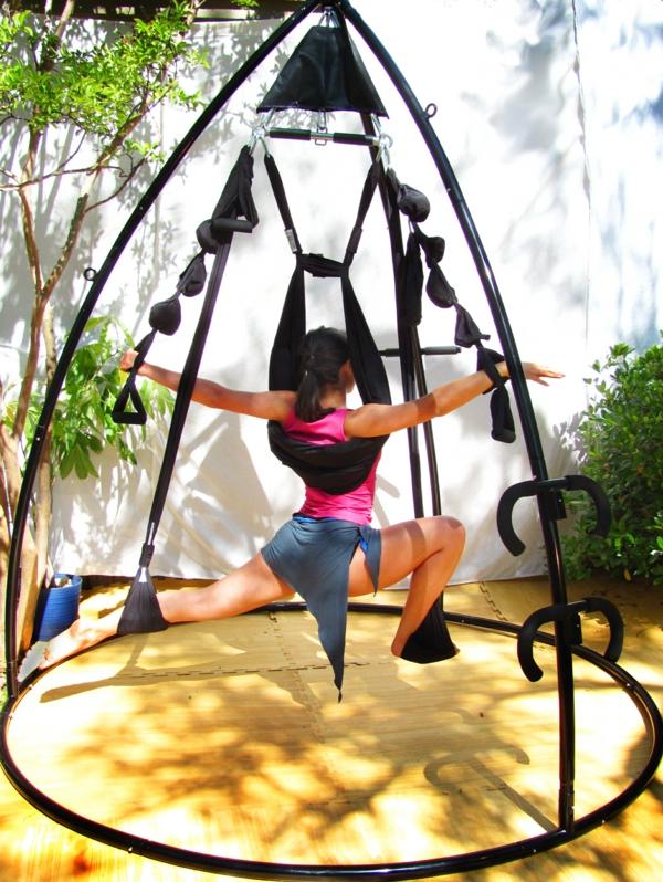 Omni-Gym-Yoga-Swing-igloo-instalation-pour-intérieur-et-extérieur